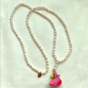 Jewelry - Juicy Couture pearl charm necklace